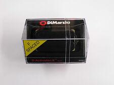 DiMarzio F-spaced D Activator X Neck Humbucker Black DP 221