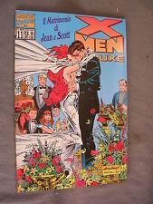 X-MEN DELUXE # 11 - IL MATRIMONIO DI JEAN E SCOTT - MARVEL COMICS - OTTIMO