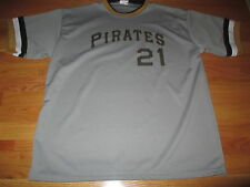 OPC Label - ROBERTO CLEMENTE No. 21 PITTSBURGH PIRATES (XL) Jersey