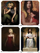 Ladies of Battlestar Galactica Poster Set of 4-Starbuck/Athena/#6/Laur a Roslin