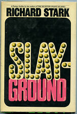 Fiction: SLAY-GROUND by Richard Stark (aka Donald Westlake). Signed.