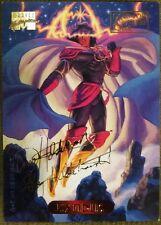 1994 Marvel Masterpieces Exodus #36 Fleer Trading Card - Gold Signature Series
