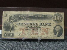 1855 $10 OBSELETE NOTE-LOW S.N.222 -VERY  NICE SPECIMAN - FREE SHIPPING!