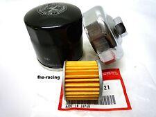 1 X HONDA ORIGINALE Filtro dell'olio, FRIZIONE FILTRO OLIO + CHIAVE, NC 700 S RC 61 DCT
