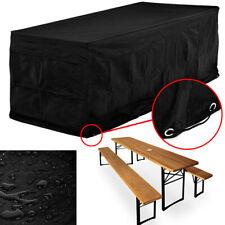 Funda protectora para conjuntos de muebles para mesas y bancos 180 x 95 x 76cm
