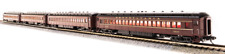 BROADWAY LIMITED 3760 N SCALE PRR P70R w AC Tuscan Red w/ Gold 4-Car Set NEW
