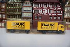MB Koffer-Lastzug von Baur Versand i. OVP (Wiking/CC,Rh,BB,Ap/L 227-29,466