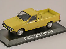 DACIA 1304 PICK UP in Yellow 1/43 scale model by Altaya