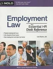 NEW Employment Law: The Essential HR Desk Reference by Lisa Guerin