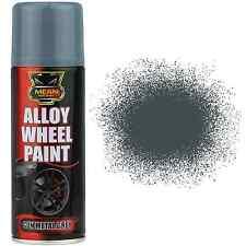 1x 200ml Gris Pistola Aleación / RUEDA DE ACERO pintura en aerosol RESTAURAR