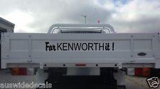 FarKENWORTHit Sticker Kenworth Decal Turbo UTE 4x4 400mm