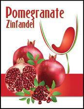 Island Mist Pomegranate Wine Labels - 30