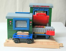 Thomas & Friends Wooden Railway, MR JOLLY'S CHOCOLATE FACTORY, RARE & COMPLETE