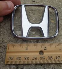 Honda Civic trunk emblem badge decal logo chrome OEM Factory Genuine Stock rear