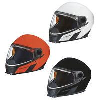 Ski-Doo Oxygen Helmet DOT Certified Lightweight Modular Heated Visor Snowmobile