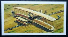 Wright Brothers  FLYER    Illustrated Card # VGC