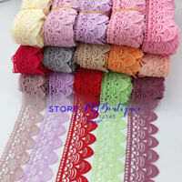 1 Yard Lace Trim Ribbon Crochet Embroidered Dress skirt Sewing DIY Crafts FP136