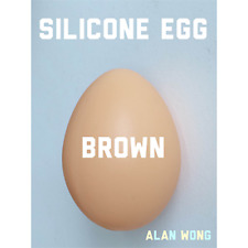 Silicone Egg (Brown) by Alan Wong from Murphy's Magic