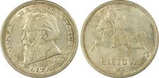 lithuania 5 litai 1936 pcgs ms62 unc uncirculated great coin