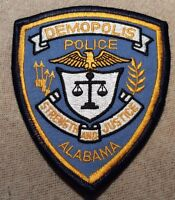 AL Demopolis Alabama Police Patch