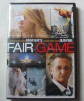 DVD FAIR GAME - Naomi WATTS / Sean PENN - NEUF