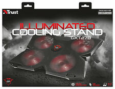 "TRUST 20817 GXT278 COOLING STAND COOLER FOR LAPTOP ETC. TO 17.3"", 3 YR WARRANTY"