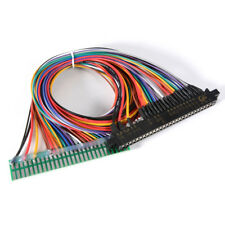 """JAMMA PCB Board Harness 24"""" Power Arcade Control Panel Extension Cable Ac710"""