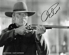 "Clint Eastwood   B&W 8""x10"" Autographed Photo Copy "" Unforgiven "" EAST-X09"
