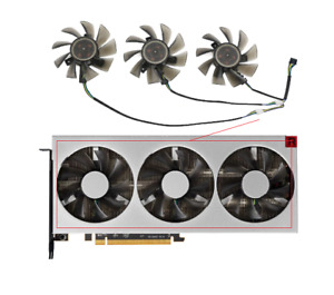 Fans For Amd XFX Radeon VII RadeonVII Graphics Video Card Cooler Fan FD8015H12S