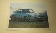 PORSCHE 911 - WEETBIX AUSTRALIA Rally Champs Swap Card