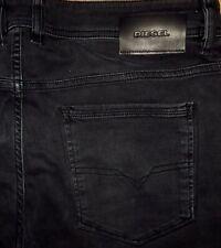 Original DIESEL SLEENKER 069EQ Jeans Slim Skinny Darkgrey W 36/30 Grau Tepphar