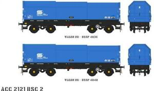 Accurascale ACC2121-BSC-2 2X JSO50A JSA Steel Coil Wagons