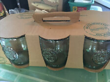 New listing San Miguel 100% Authentic Recycled Drinking Glasses (Set Of 6) Made in Spain