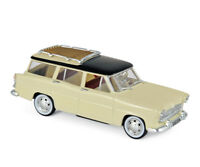 NOREV 574055 - Simca Vedette Marly 1957 Paille Yellow & Black  1/43