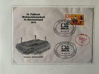 Fussball - WM 1974 - Matchday-Cover - Niederlande vs. Schweden 0:0
