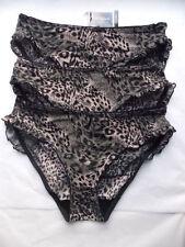 Glamour Animal Print Knickers Bikinis for Women