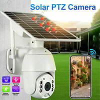 WIFI Solar Camera Wireless Security 1080P Outdoor Night Vision IP66 Waterproof