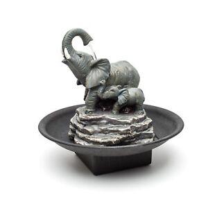 Decor Desk Elephant Watering Hole Fountain - Water Fountain