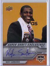 Kofi Sarkodie 2011 UD Upper Deck MLS Super Draft Autograph MSD-KS Houston Dynamo