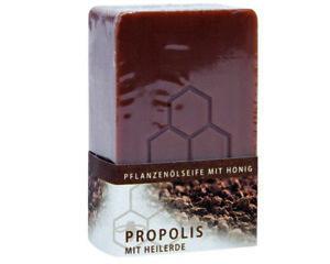 100g Propolisseife Honigseife mit Heilerde Pflanzliche Natur Honig Seife