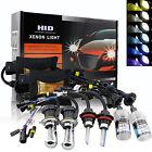 55W HID Kit Conversion Xénon Ampoules Feux SLIM Ballasts H1 H7 H8 H11 9005 6000K