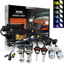 55W HID Kit Conversion Xénon Ampoules Feux SLIM Ballasts H1 H7 H8 H11 9005 6000K