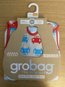 Gro Company Grobag 1 tog 0-6 months - Car Pattern Baby Sleeping Bag BNWT