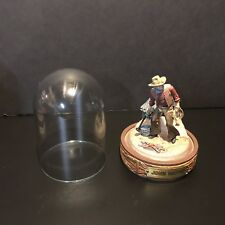 "The Franklin Mint John Wayne Collection ""Wrangler� Hand Painted Sculpture"