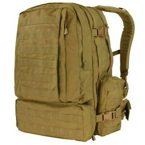 Condor 3 Day Assault Pack Tactical Backpack - Coyote - 125-498