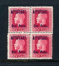 Block Cook Islander Stamps