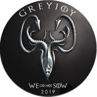 GREYJOY Game of Thrones GOT Walking Liberty 1 Oz Silver Coin 1$ USA