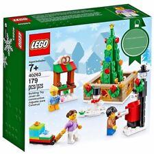 Lego 40263 Noël Town Square Limited Edition-Retraité Set-Comme neuf NEW BOXED