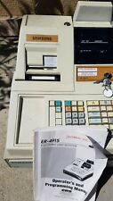 Samsung Er 4915 Electronic Cash Register With Cash Drawer With Keys And Manual