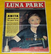LUNA PARK 1961 n. 15 Anita Ekberg, Alida Valli, Dirk Bogarde